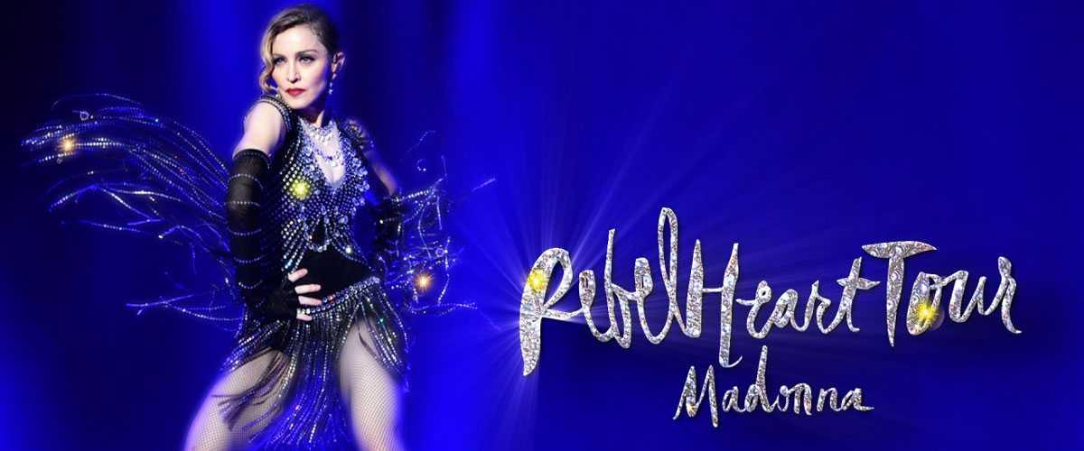 Madonna's Costumes Light Up with Swarovski Crystals