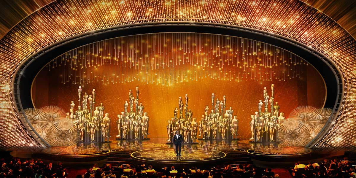 2016 Oscar Stage Shines More Than Celebs