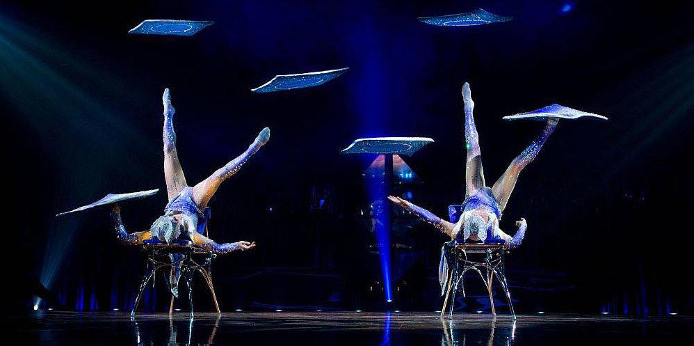 Cirque du Soleil and Swarovski Costume Collaboration