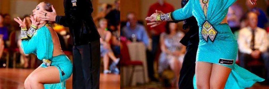 Latin Dance Dress for Alexandra Dane