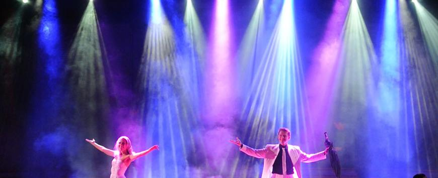 Costume design and stage lights