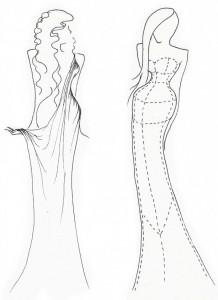 Stage costume design